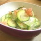 Easy Summer Salad: Zucchini, Grapefruit & Dill Salad