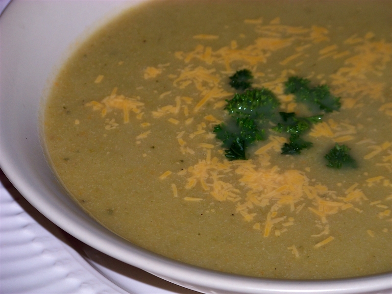 Light Cheddar Cheese and Broccoli Soup Recipe by Kristi - CookEatShare
