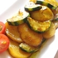 ZUcchini and Potato in Soy sauce Marinade
