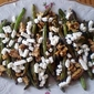 Green Beans with Balsamic Vinegar, Toasted Walnuts, and Goat Cheese