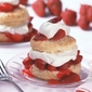 delightful strawberry shortcake