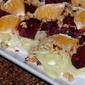 Ruby Red Beet Salad with Fennel and Walnuts