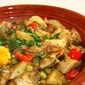 Artichokes are back in town – Tagine of artichokes, chickpeas, potatoes, red peppers and olives