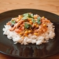 Easy Mango Chicken over Coconut Rice