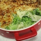 Easy Broccoli and Cauliflower Gratin
