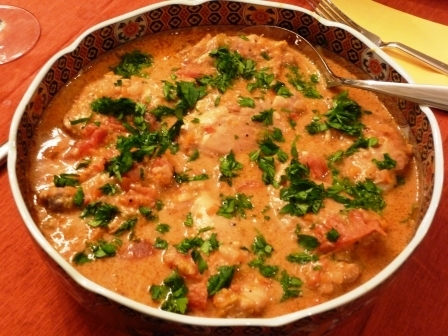 African Chicken in Peanut Sauce Recipe by John - CookEatShare