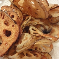 Fried Lotus Roots