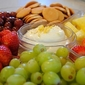 Lemon Cream Cheese Fruit Dip