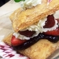 Fresh Fruit Napoleons with Blackberry Curd