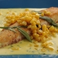 Using Sustainable Fish: Tilapia with Tarragon and Sweet Corn Sauce Recipe