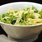 Quick and easy pasta with arugula and Romano cheese