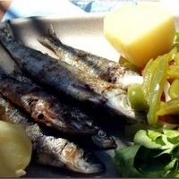 Image of Portuguese Grilled Sardines Recipe, Cook Eat Share