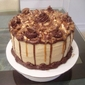 Tracey's Reese's Peanut Butter Cup Caramel Chocolate Cake