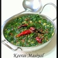 Keerai Masiyal (Spinach Dal)