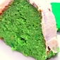 St. Patrick's Day Quick Cake