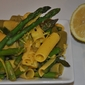 Zesty Lemon and Asparagus Pasta