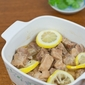 Stewed Pork Ribs with Lemon and Champagne