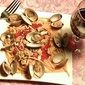 Red Clam Sauce Over Linguine