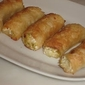 Greek Leek And Cheese Rolls (Prasoboorekakia)