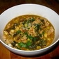 Chicken White Bean Chili with Rainbow Swiss Chard
