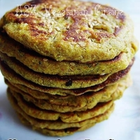 Low-fat, Gluten free Multigrain Savory Pancakes