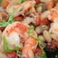 Shrimp, Sausage and White Beans