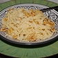 Pasta with Walnuts, Olive Oil and Parmigiano-Reggiano