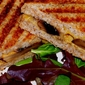 Grilled Portobello Mushrooms and Sun-Dried Tomato Panini