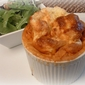 "Say ""Cheese"" Please! Ina Garten's Blue Cheese Souffle' & a Rockin' Salad"