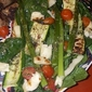 Roasted Asparagus, Zucchini and Tomato Salad