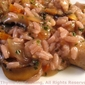 Sausage, Mushroom and Red Wine Risotto; Broken cook top again! Weekly Menu