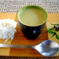 Green Curry Zucchini Bisque