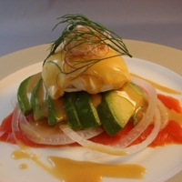 Poached Egg, Smoked Salmon & Avocado Salad