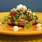 Tex-Mex Chalupas with Quick, Easy Taco Filling