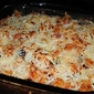 Baked Eggplant and Turkey Rotini