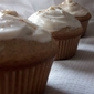 #22) Autumn-Spiced Cupcakes with Ginger Cream Cheese Frosting