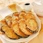 Eggplant beignets