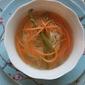 Spring Pasta Nest Soup