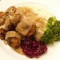 Köttbullar and Gräddsås (Swedish Meatballs with Cream Gravy)