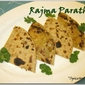 Rajma Paratha (Red Kidney Bean)