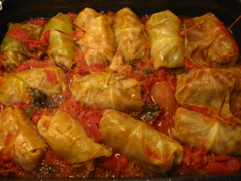 Mom's Stuffed Cabbage Recipe by The - CookEatShare