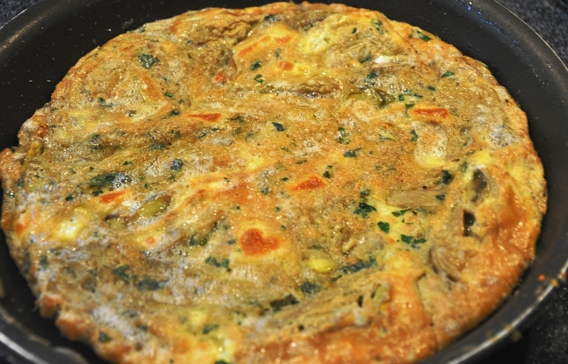 ... and taleggio artichoke leek and taleggio frittata recipes dishmaps