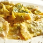 Borage filled Ravioli