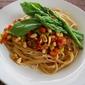 Asparagus & Sundried Tomato Spaghettini