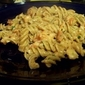 Fusilli with Shrimp and Tomato Cream Sauce