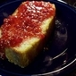Lemon Yogurt Cake with Raspberry Sauce