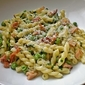 One of Those Days - Pasta with Peas, Parsley, Mint & Bacon