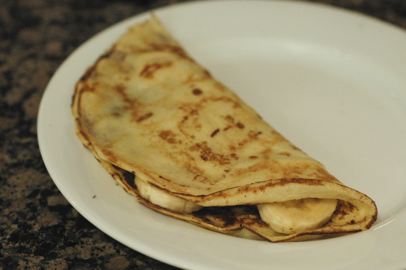 NUTELLA AND BANANA CREPES Recipe by Linda - CookEatShare