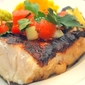 Grilled Sea Bass with Fresh Fruity Relish