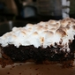 Brownie S'mores Pie.